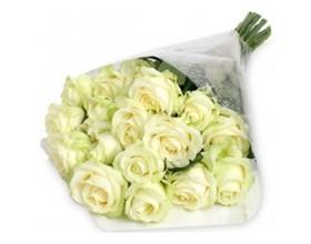 Букет из белых роз Голландия
