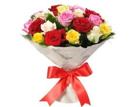 Радуга из роз